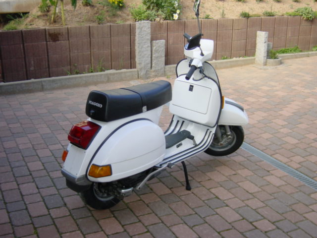vespa px80e lusso orig 8600km verkaufe vespa. Black Bedroom Furniture Sets. Home Design Ideas